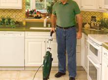 Gruene 2-in-1 Handheld Steam Cleaner Mops