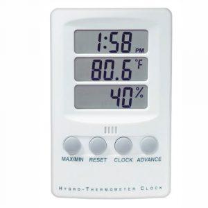 BGG Digital Hygrometer Thermometer Clock