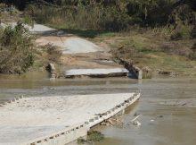 Bridge Flood Damaged in Texas
