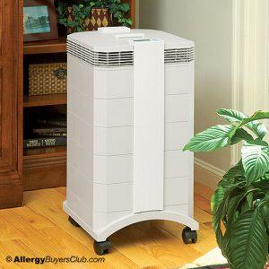 Gray IQair Health Pro Air Purifier