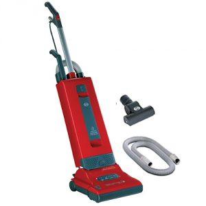 Red SEBO X4 HEPA Pet Upright Vacuum Cleaner