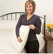 Fall Allergies - White Mountain Textiles Cotton Deluxe Dust Mite Pillow Covers