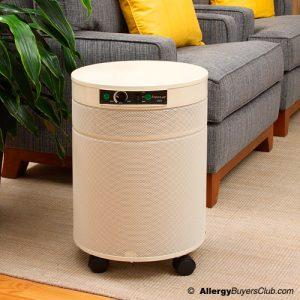 White and Round Airpura Micro-Organism Air Purifier