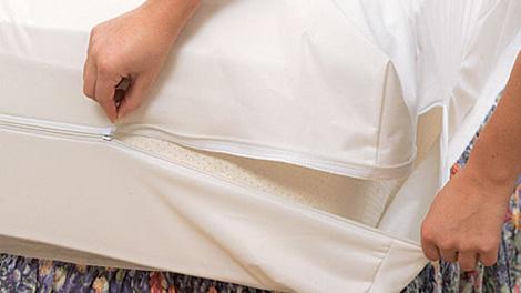 White Mountain Textiles Cotton Deluxe Dust Mite Mattress Covers