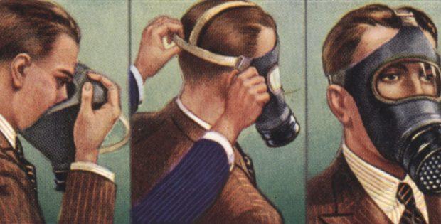 air raid gas masks